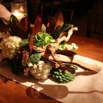 farm table centerpiece