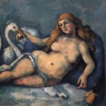 Leda And The Swan by Cezanne 1880