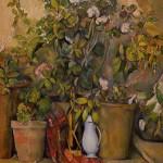 Pots en Terre Cuite et Fleurs by Cezanne, 1892