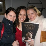 author (center)