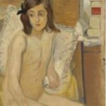 Nude And Books by Jules Pascin, 1906