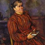 Portrait of a Woman by PaulCezanne, 1898