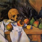 Nature Morte au Crane by Paul Cezanne