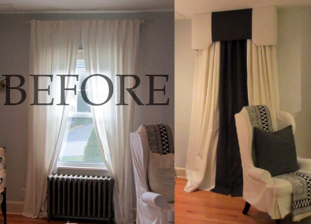 before & after valance