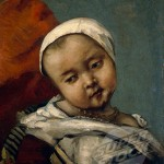 Head of a Baby by Gustave Courbet, 1855
