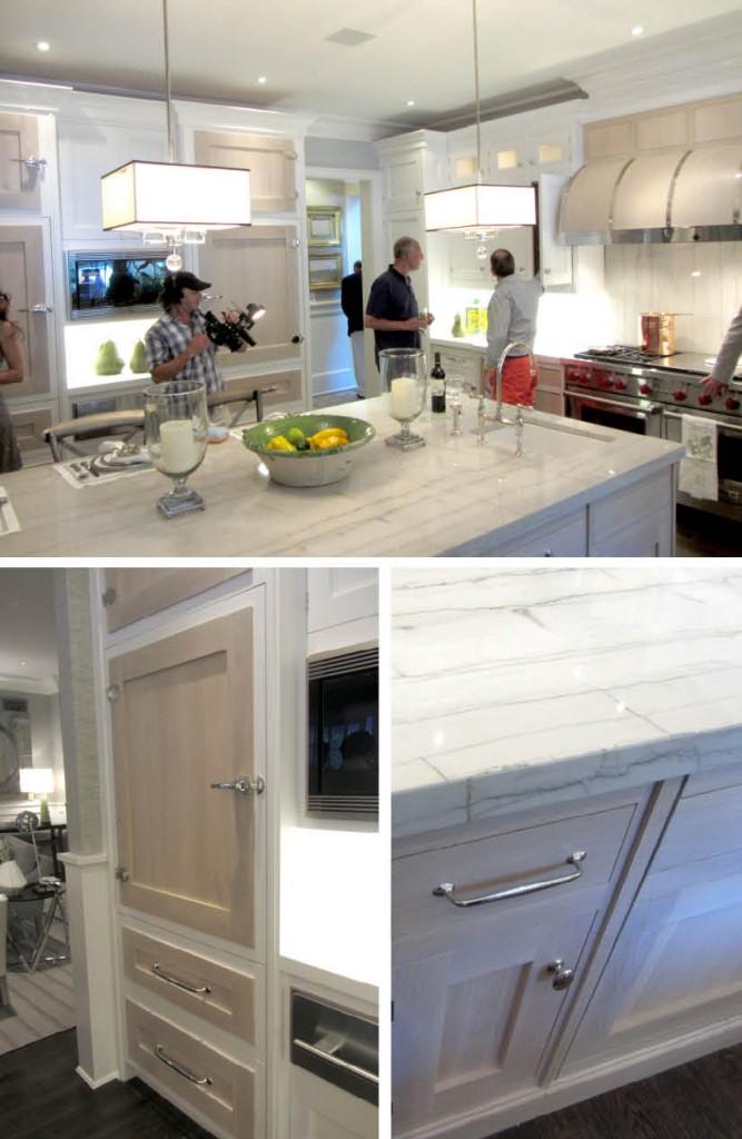 Hamptons Kitchen White Cabinets