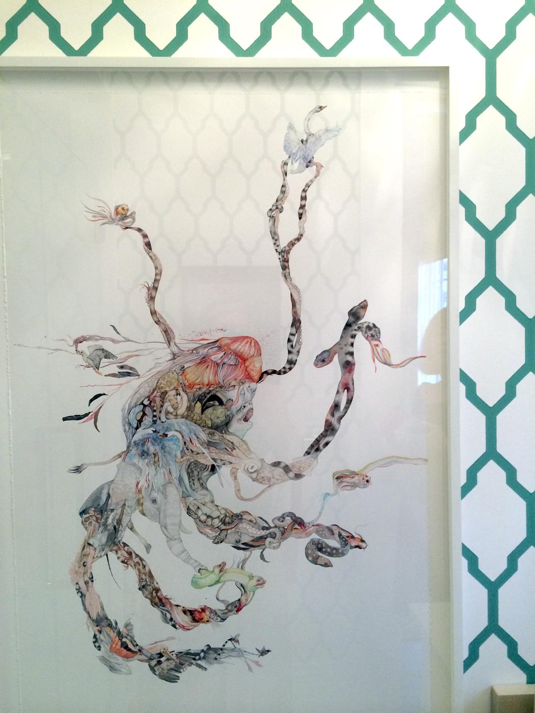 Katie Leede Wallpaper a Detail From Katie Leede And